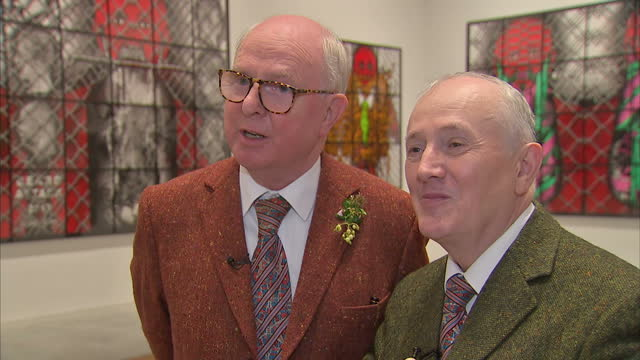 They say they never set out to shock but the art world's most famous living sculptures Gilbert and George have arguably spent 50 years doing just...