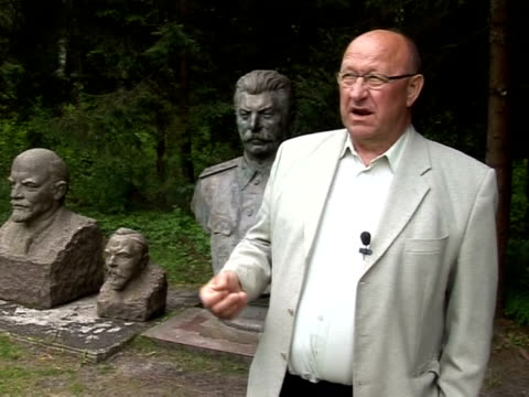 They're a throwback to a bygone era but the Soviet statues in Lithuania's Gruto Park still draw a crowd Vilnius Lithuania