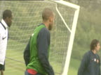 Thierry Henry during Arsenal FC training session London Colney 18 May 04