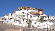 Thiksey Monastery or Thiksey Gompa in Leh Ladakh, Northern India