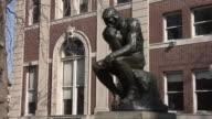 MS Thinker Statue / New York, United States