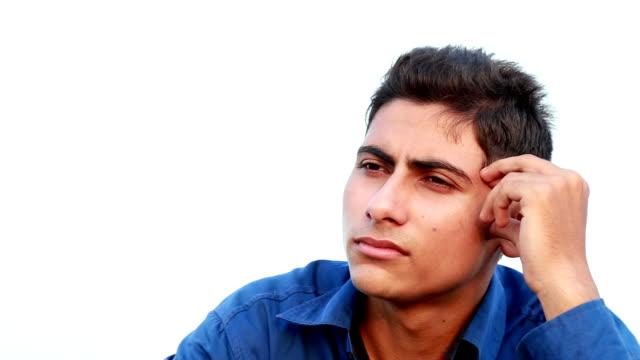 Thinking Men Portrait
