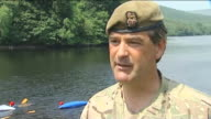 Third soldier dies after Brecon Beacons training exercise Brigadier Philip Napier interview SOT when pushing people close to limit that limit can...