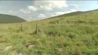 Third soldier dies after Brecon Beacons training exercise LIB WALES Brecon Beacons EXT GVs Open moorland and hills