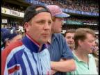 Third Test Darren Gough CMS English fan intvwd SOT Gough has shown determination CMS English fan intvwd Gough plays with such passion CBV Gough waves...