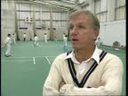 London Lords INT CMS Clive Radley intvd SOT 'Northern grit' does tend to bring up some good fast bowlers for England