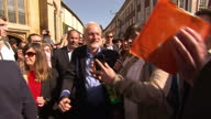 This clip contains a black gap third party content removed VOICED There has been an apparent leak of Labour's election manifesto It wasn't due to be...