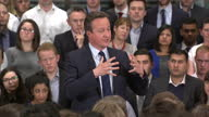 This clip contains black gaps third party content removed VOICED David Cameron today answered questions raised in the socalled Panama Papers about...