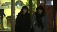 This clip contains gaps of black third party content removedVOICED Two sisters who worked as aides for Nigella Lawson and Charles Saatchi have been...