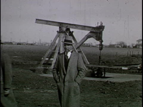 This home movie from the 1930s captures scenes of various Texas oil fields