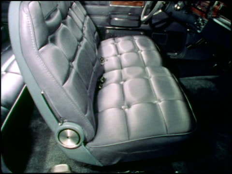 This is the first part of a 1973 American Motors promotion film for its luxury car the Ambassador Clips include a blue hard top pulling up to a...