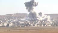 This video shot from Suruc district of Sanliurfa southeastern province of Turkey near TurkishSyrian borderline shows that smoke rising in Ayn alArab...