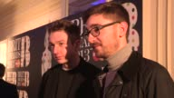 Thom Green Gus Unger Brit Award Nominations at The Savoy Hotel on January 10 2013 in London England