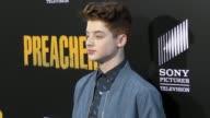 Thomas Barbusca at the Premiere Of AMC's 'Preacher' Season 2 on June 20 2017 in Los Angeles California