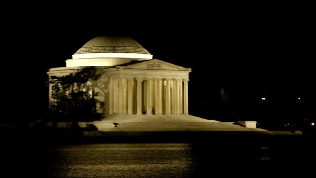 Thomas Jefferson Memorial at Night
