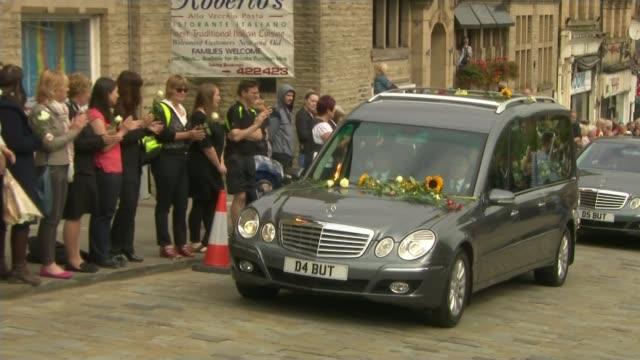 Thomas Mair found guilty of Jo Cox murder Brendan Cox interview LIB / T15071637 Batley EXT Funeral cortege of murdered MP Jo Cox along as people...