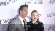Thomas Sadoski and Amanda Seyfried at the Premiere Of Bleecker Street Media's 'The Last Word' Red Carpet on March 01 2017 in Hollywood California