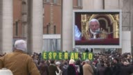 Thousands gather to listen to Pope Benedict XVI call for an end to the bloodshed in conflict wracked Syria in a traditional Christmas message that...
