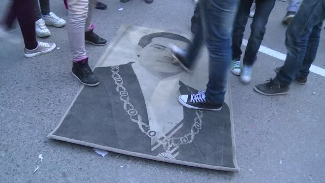 Thousands gathered in the Tunisian capital Thursday to mark the fifth anniversary of the overthrow of longtime dictator Zine El Abidine Ben Ali in...