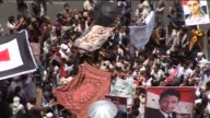 Thousands of antigovernment protesters returned to the streets of Sanaa on Friday to call for the resignation of Yemeni President Ali Abdullah Saleh...