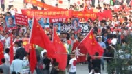 Thousands of antiJapan protesters rally across China over a territorial row on Tuesday a key historical anniversary as Japanese firms including car...
