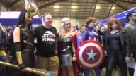 Thousands of Australians flock to the popular Supanova pop culture expo in Sydney dressed up in elaborate cosplay costumes to celebrate the latest in...