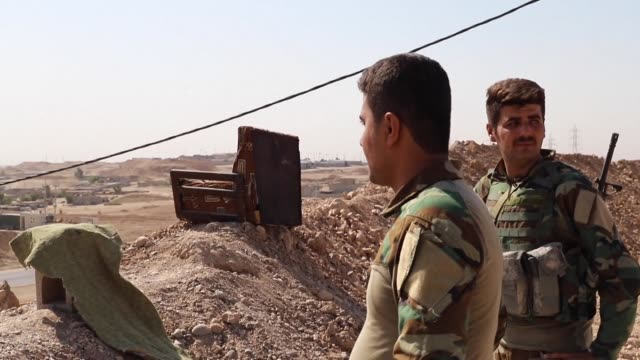 Thousands of Iraqi troops are locked in an armed standoff with Kurdish forces in the disputed oil province of Kirkuk as Washington scrambles to avert...
