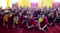 Thousands of mourners many in tears gathered in Kathmandu on Thursday to pay tribute to senior Tibetan Buddhist monk Kunzig Shamar Rinpoche whose...