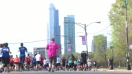 WGN Thousands of participants and supporters gathered at Grant Park on May 11 2014 in Chicago Illinois for the 17th Annual Susan G Komen Foundation...