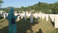 Thousands of people are expected at Srebrenica to honour the more than 8000 victims massacred in wartime Bosnia 21 years ago
