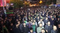 Thousands of people attend the mourning ceremony to commemorate Tasua the ninth day of the month of Muharram and marking the commemoration of the...