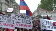 Thousands of people came out on the streets of Paris on Friday to commemorate the up to 15 million Armenians massacred by Ottoman forces in 1915...