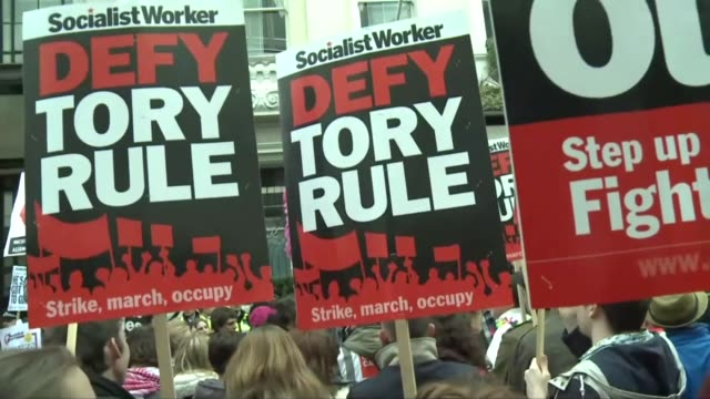 Thousands of people demonstrate in the British capital over the Panama Papers scandal and the prime ministers response