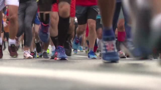 Thousands of people gathered in Turkey's largest city on Sunday to run the Istanbul Marathon the world's only race where people can cross from Asia...