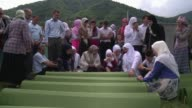 Thousands of people gathered on Friday in Srebrenica to mark the 19th anniversary of the massacre of some 8000 Muslim males by ethnic Serb forces...