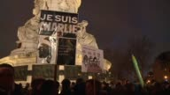 Thousands of people heed the call of Paris mayor Anne Hidalgo for another rally on the French capital's Place de la Republique