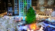 Thousands of people turned out on Wednesday night to witness the traditional annual lighting of the Christmas tree at Rockefeller Center CLEAN...