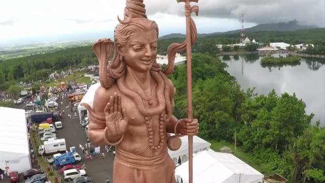 Thousands of pilgrims converge at the Grand Bassin considered as the most sacred Hindu site in Mauritius to celebrate the Maha Shivaratri festival