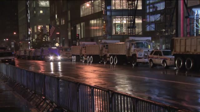 WPIX Thousands of protesters and heavy security were ready to greet President Donald Trump as he headed for his home in the city on Aug 14 2017 for...