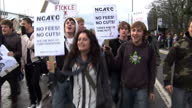 Thousands of students are set to hold further protests today ahead of the Government's vote on tuition fee rises tomorrow Liberal Democrat Leader...