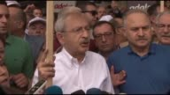 Thousands of supporters from Turkey's main opposition party begin marching on foot to Istanbul from Ankara to protest the jailing of one of its MPs...