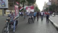 Thousands of supporters of deposed Egyptian president Mohamed Morsi marched on the Republican Guard headquarters on Friday during mass rallies...