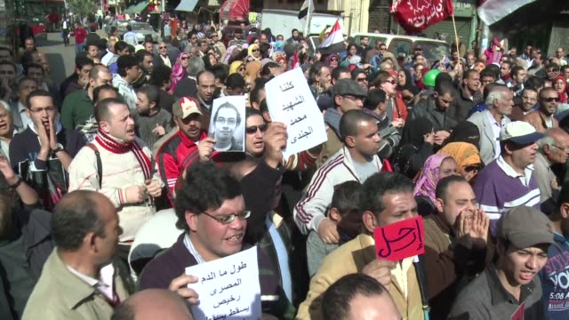 Thousands took to the streets across Egypt after opposition groups called for Friday of dignity rallies demanding President Mohamed Morsi fulfill the...