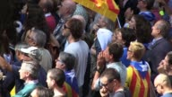 Thousands took to the streets of Barcelona on Wednesday as Spanish police detained 13 Catalan government officials in a crackdown ahead of an...
