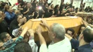 Thousands turned out Monday for the funeral of four Copts gunned down outside a church in the first attack on Christians in Cairo since the ouster of...