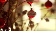 Drei clips von Weihnachten Dekoration CH