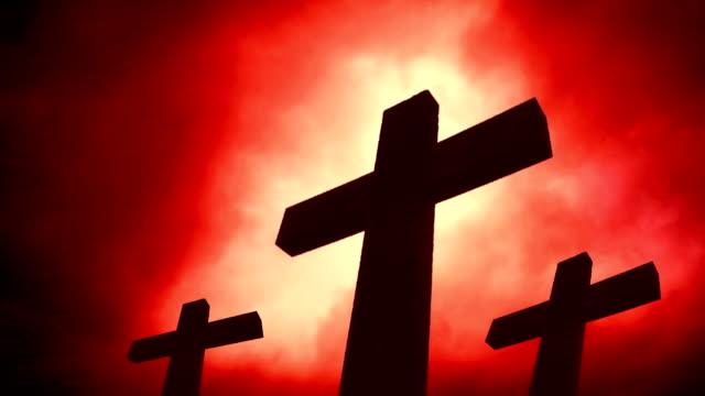Three crosses. HD, NTSC, PAL