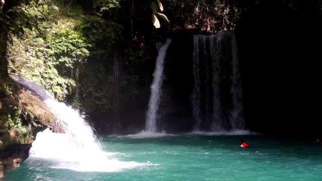 Three Falls in Kawasan, Cebu