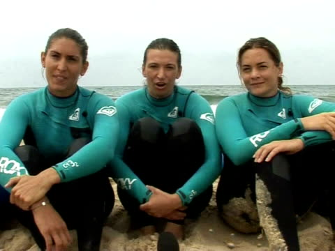 Three French women hope to set a new world record by paddling 5000 kilometres across the Atlantic between Canada and southwestern France on a...