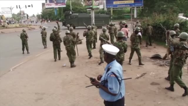 Three people have been shot dead in Nairobi as police dispersed thousands of opposition supporters welcoming home their leader Raila Odinga from an...